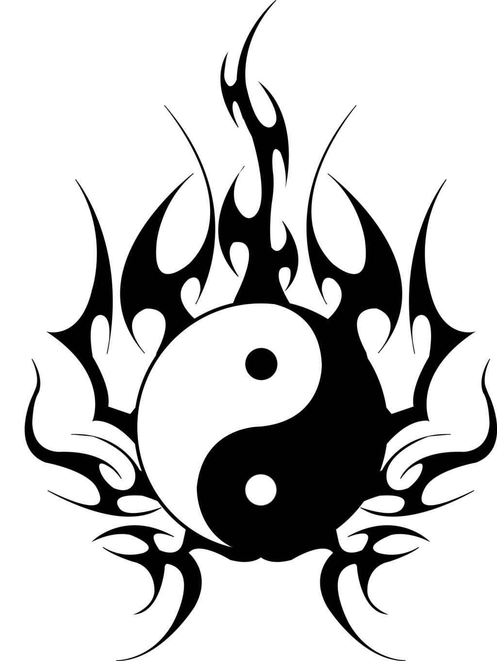 14 Yin Yang Tattoo