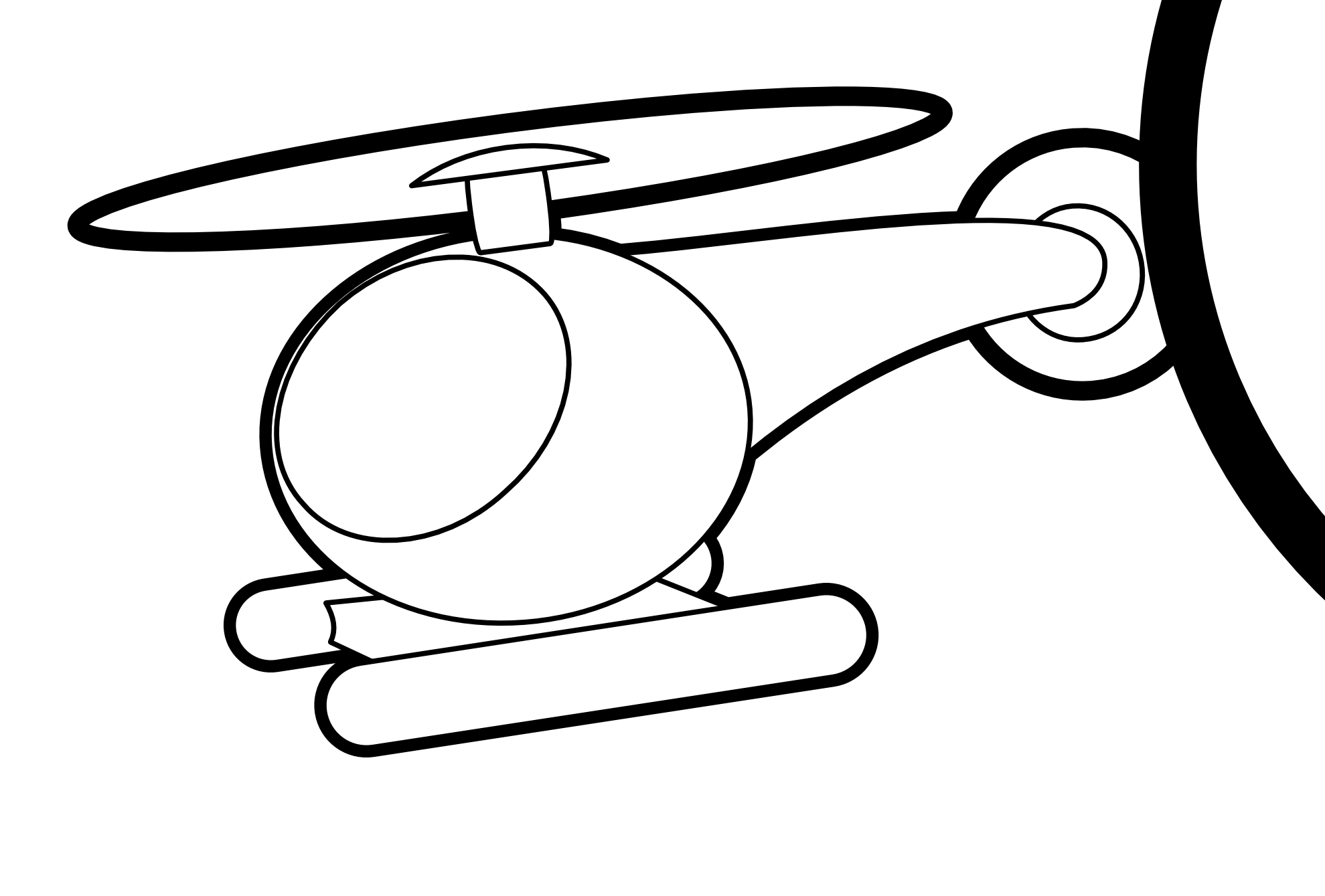 Clip Art Helicopter