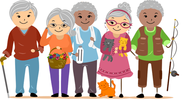 Images Of The Elderly