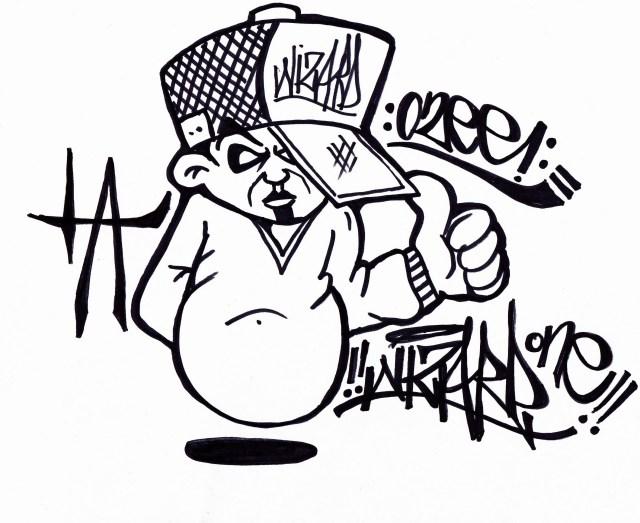 Graffiti Characters - Cliparts.co