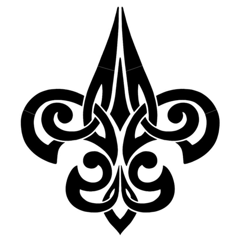 new orleans saints symbol tattoo. Black Bedroom Furniture Sets. Home Design Ideas