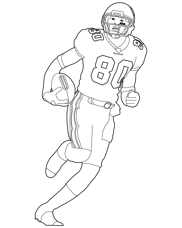 Football Player Drawing