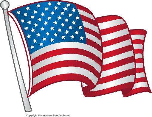 Animated American Flag Clip Art