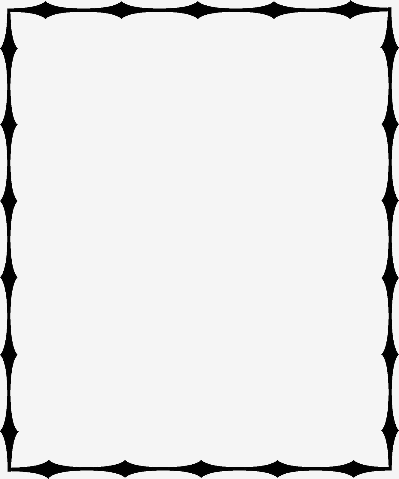 Crayon Page Border