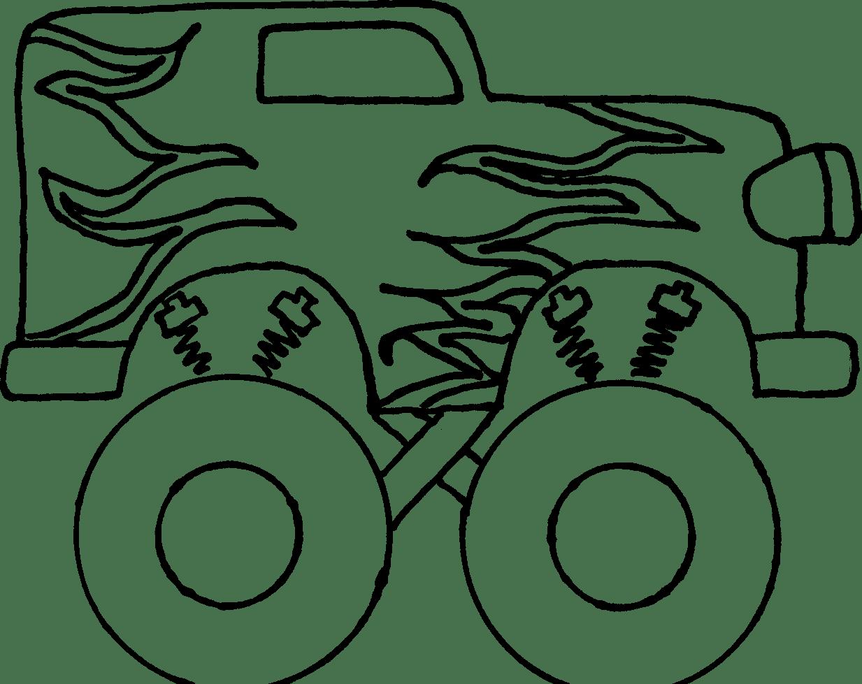 Monster Truck Clip Art Free