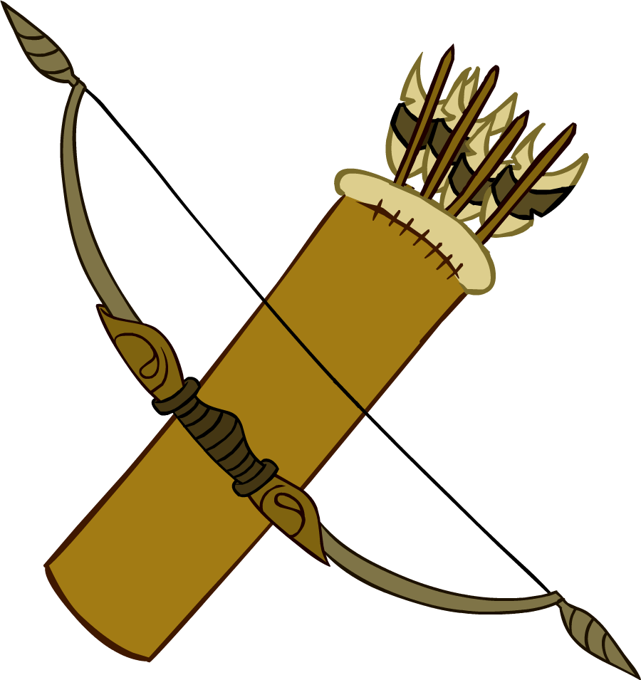 Image result for free Archery Bow and Arrow Clip Art