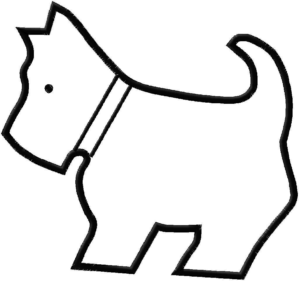 Outline Of Dog