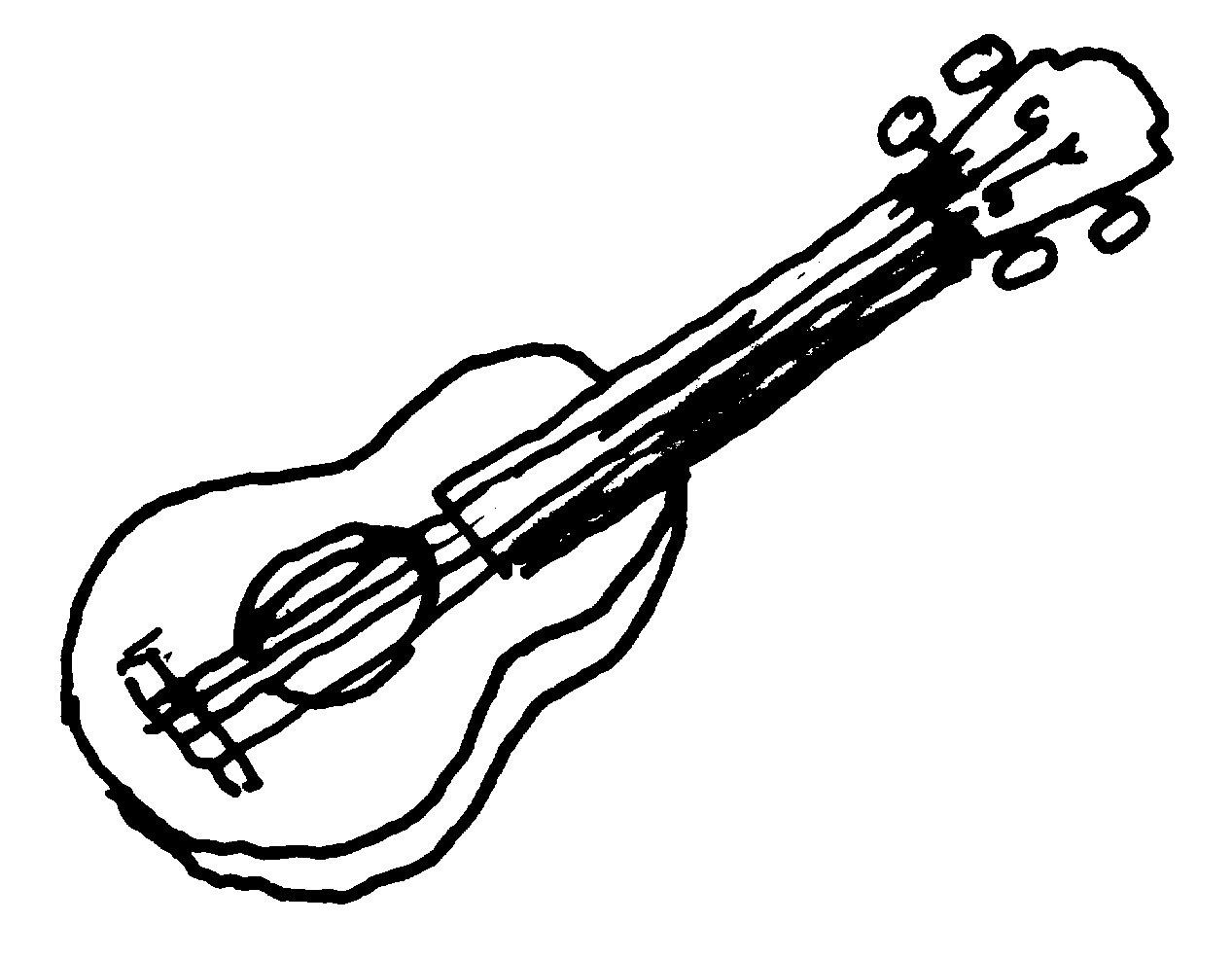Clip Art Of Guitar