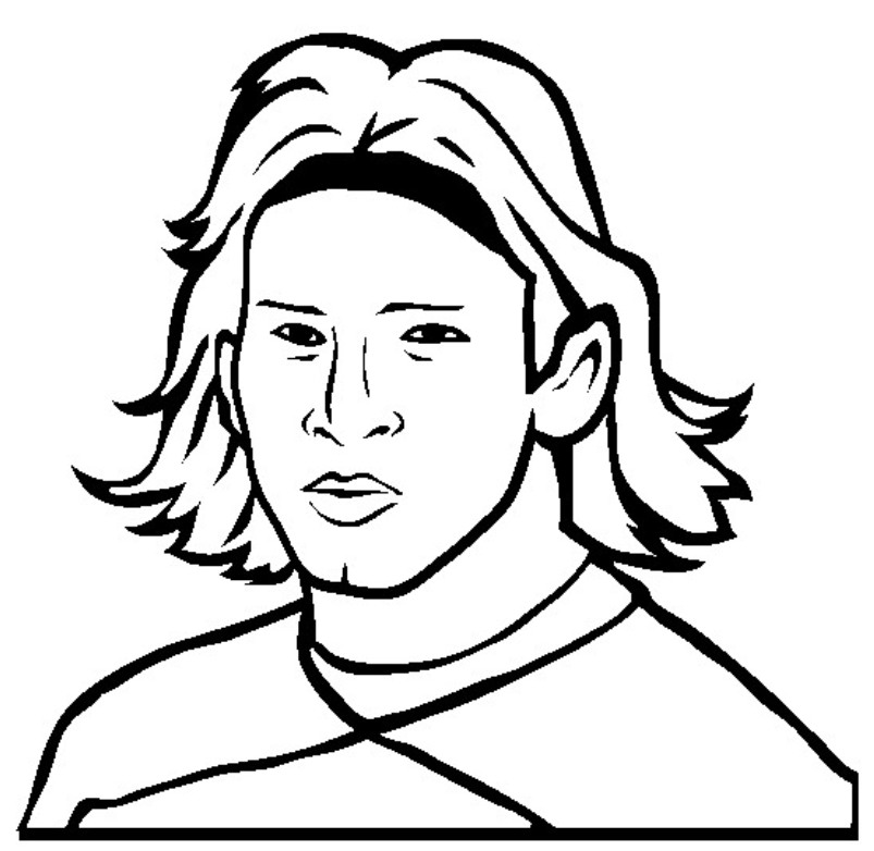 leo messi coloring coloring pages