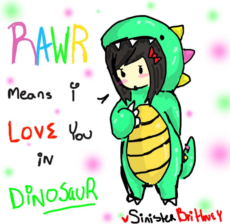 Cute Dinosaur Love Quotes
