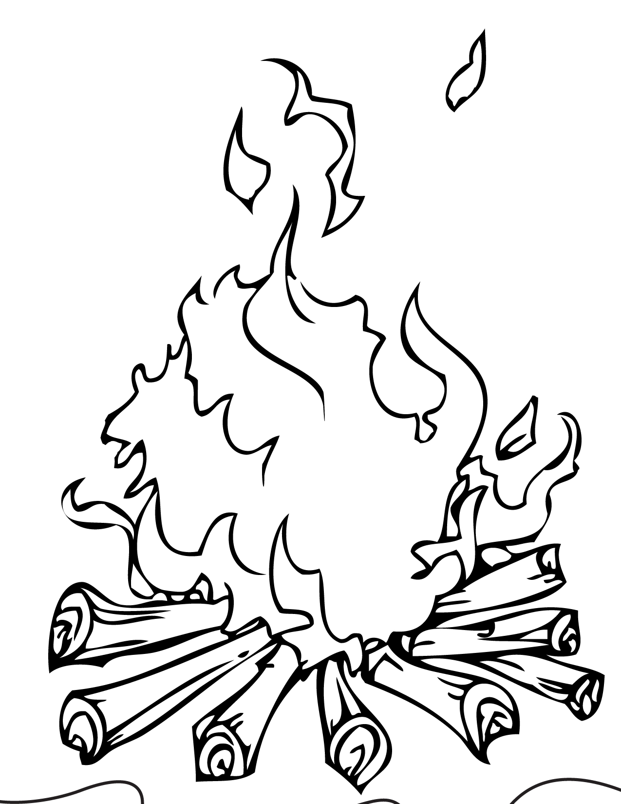 Bbq Coloring Pages Sketch Coloring Page
