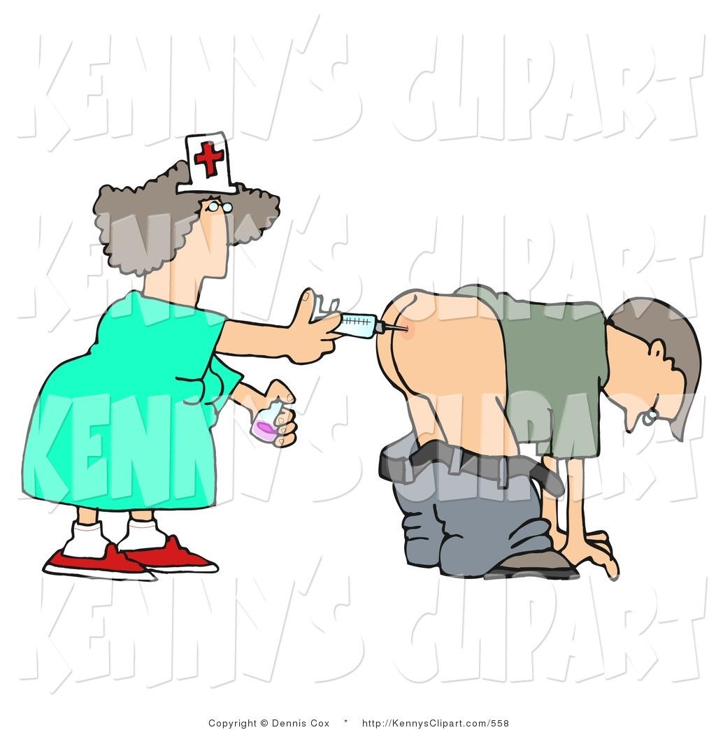 Nurse With Patientclipart