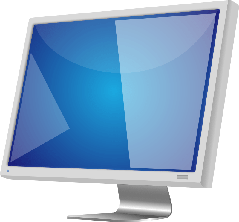 Computer Monitor Clip Art