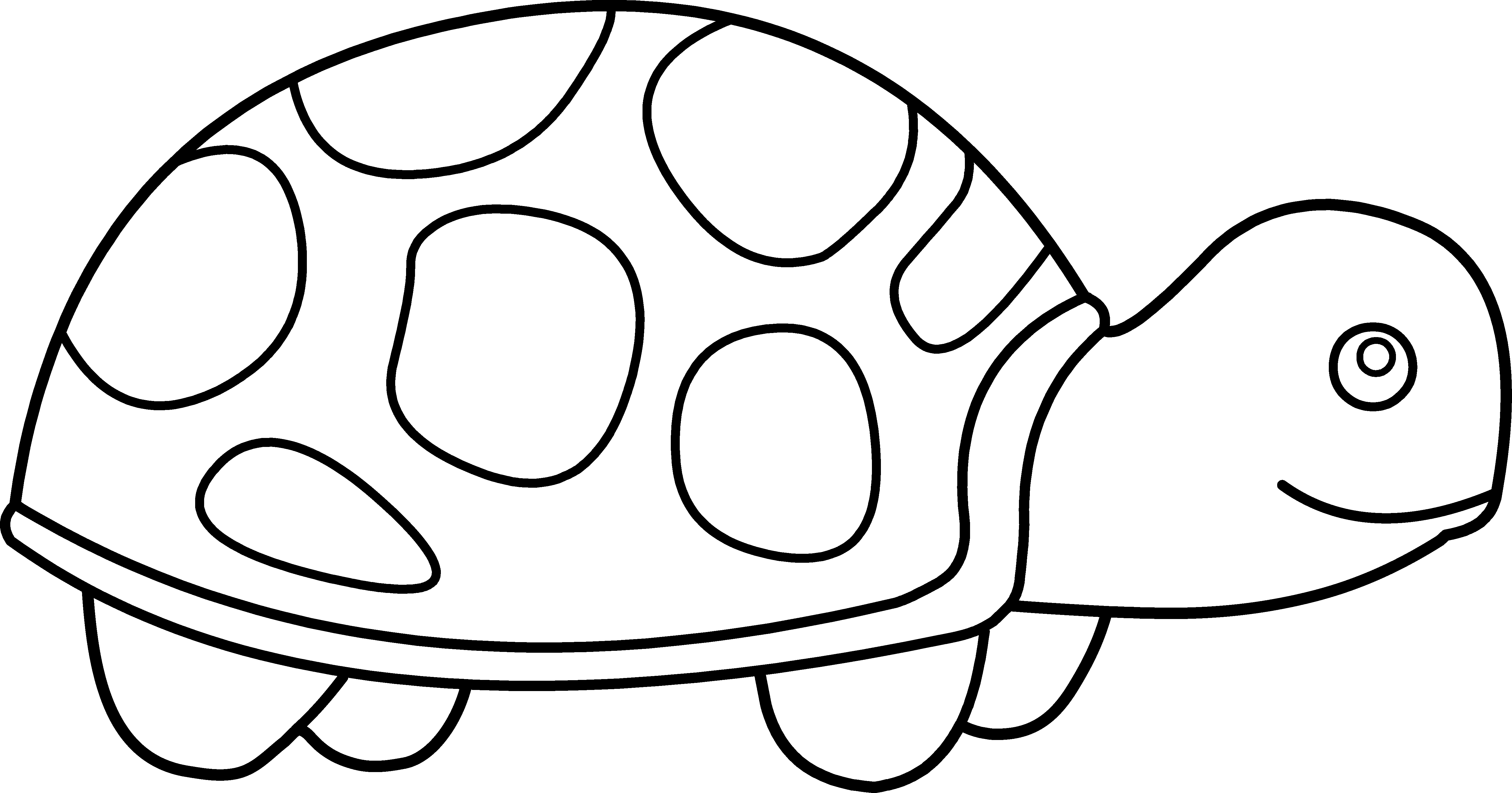 Ocean Animals Clip Art Black And White