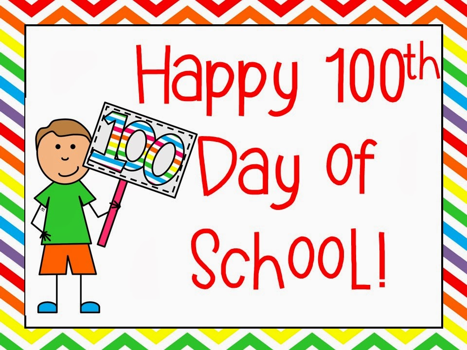 100th Day School Certificate