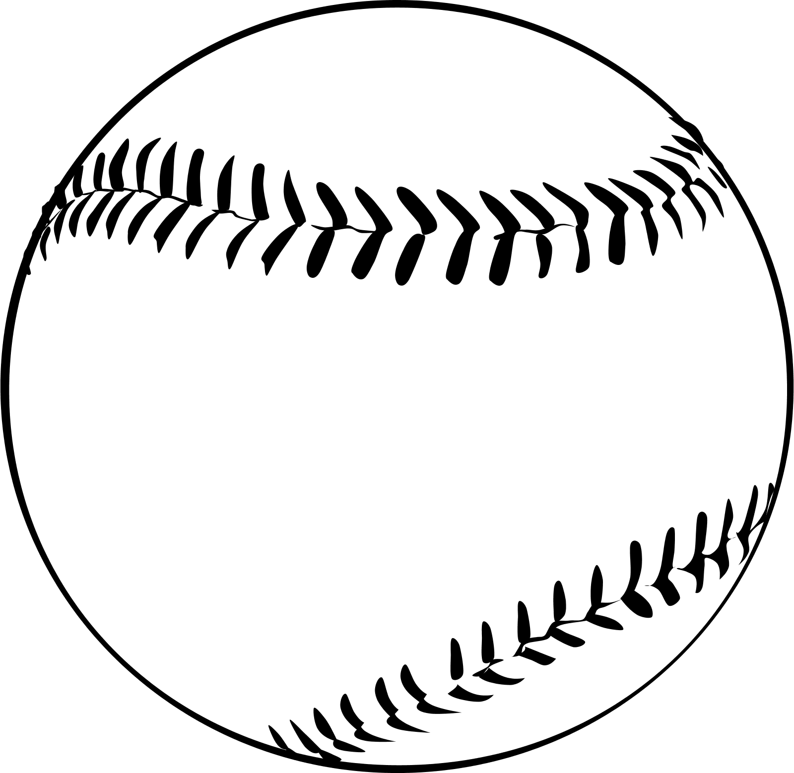 Free Softball Vector