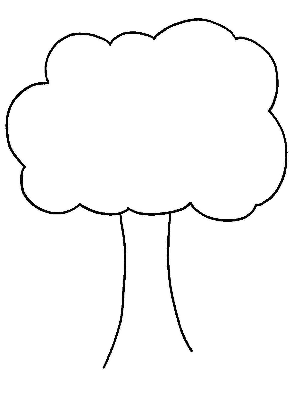 Bare Tree Template