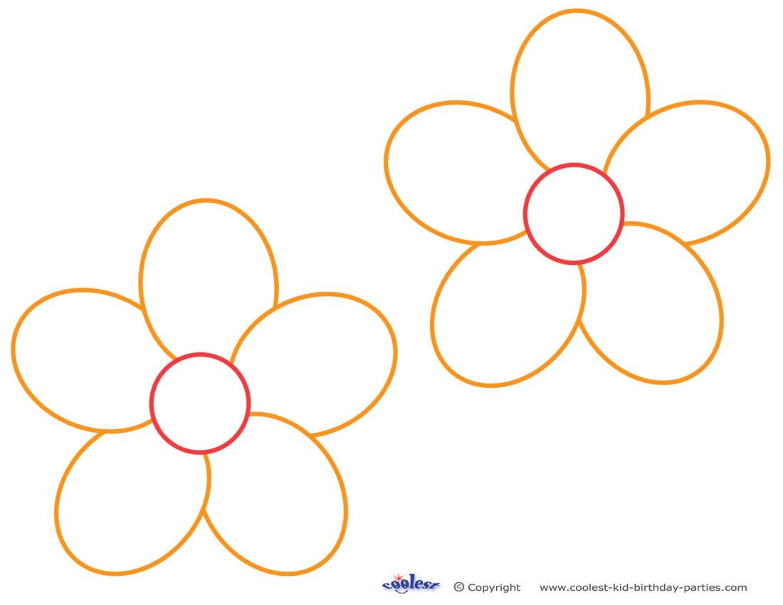 Free Printable Flower Stencil Templates
