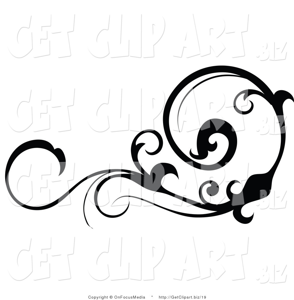 Free Horizontal Vine Clipart