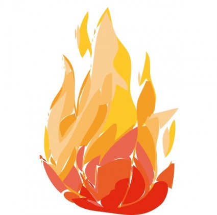 Fire Flames clip art Vector clip art - Free vector for free download
