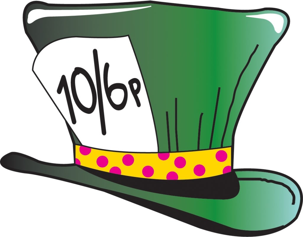 Mad Hatter Hat Template Printable