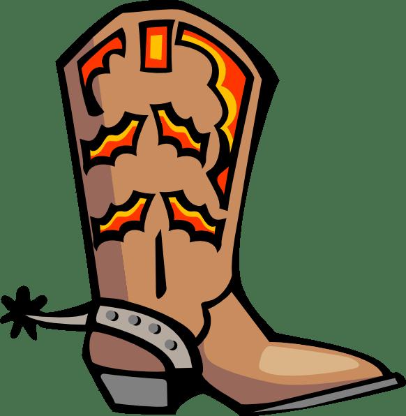 Cowboy Boots Cartoon Clip Art