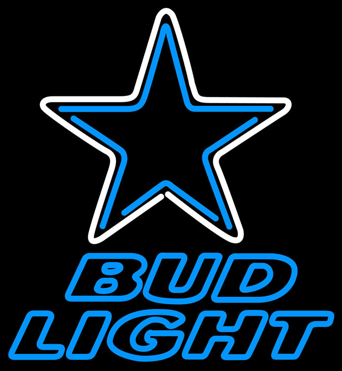 Bud Light Dallas Cowboys Can