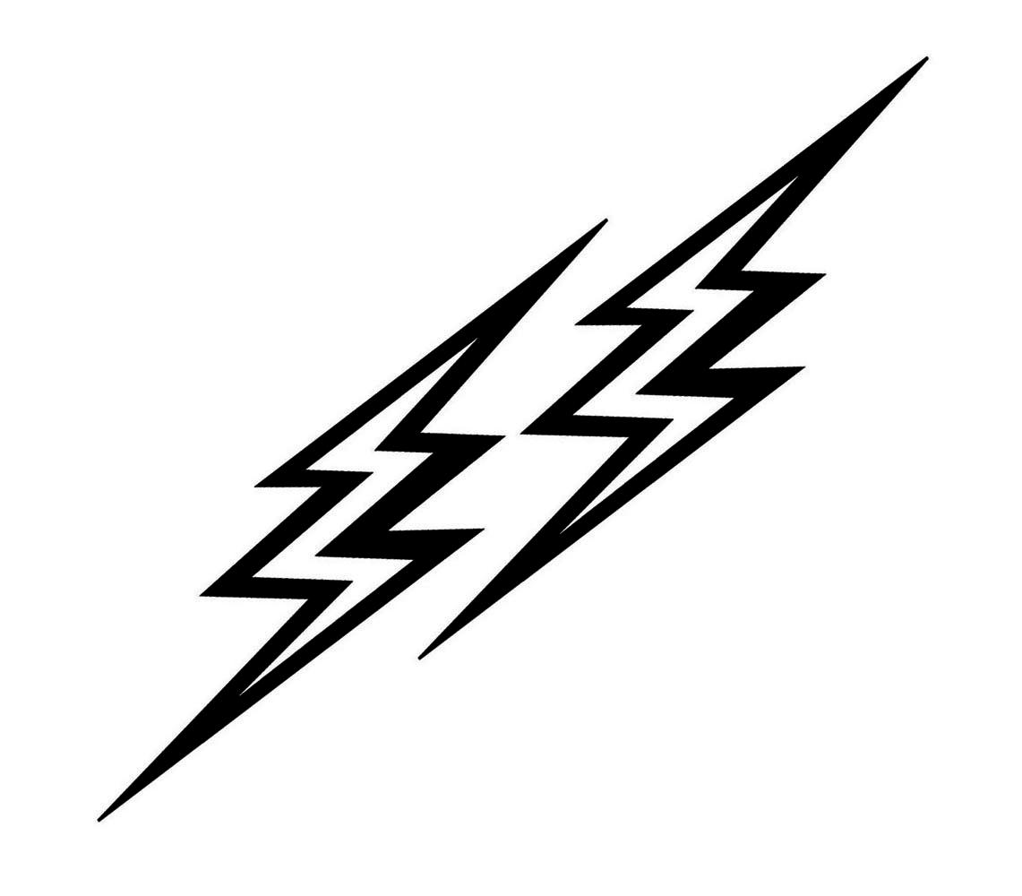 Lightning Bolts Clip Art