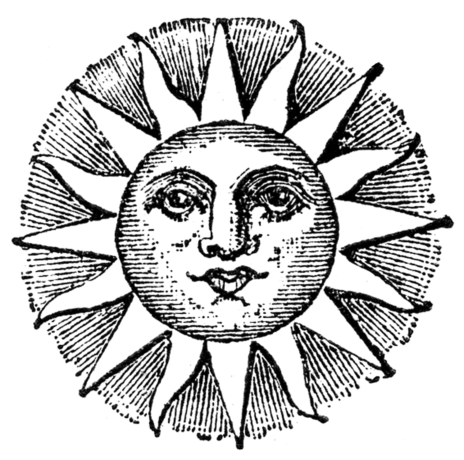 Cool Sun Moon Drawings