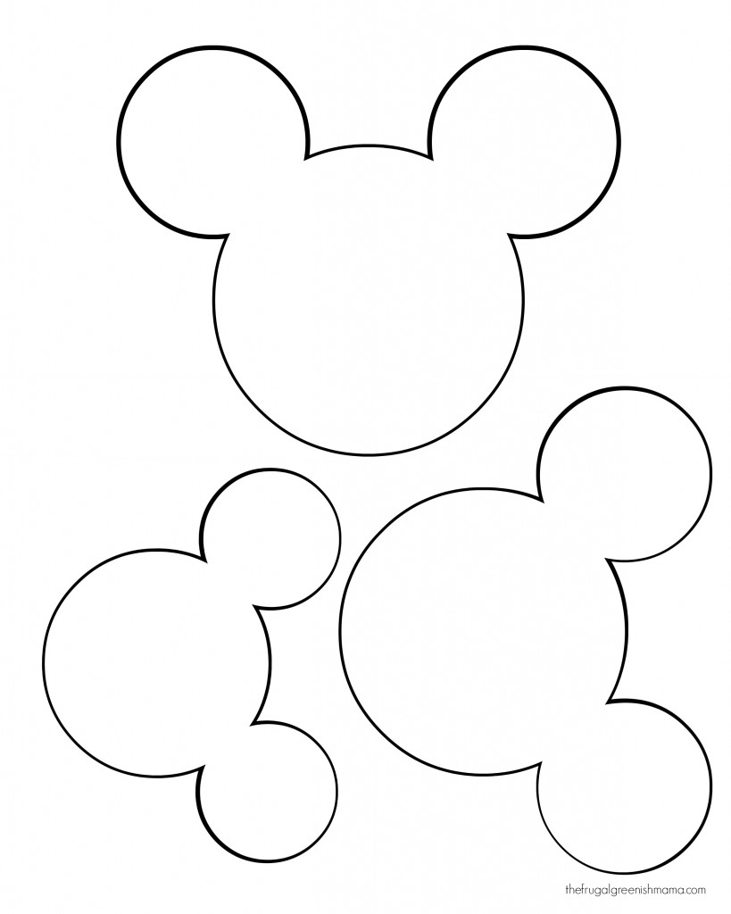 Mickey Mouse Font Letter In Welcome