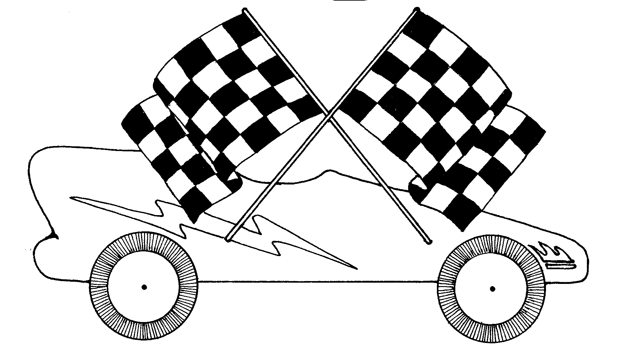 Pinewood Derby Clip Art