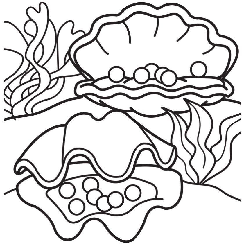 pearl divers colouring pages (page 2)  cliparts.co