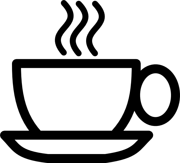 Cup Clipart Black And White | Clipart Panda - Free Clipart Images