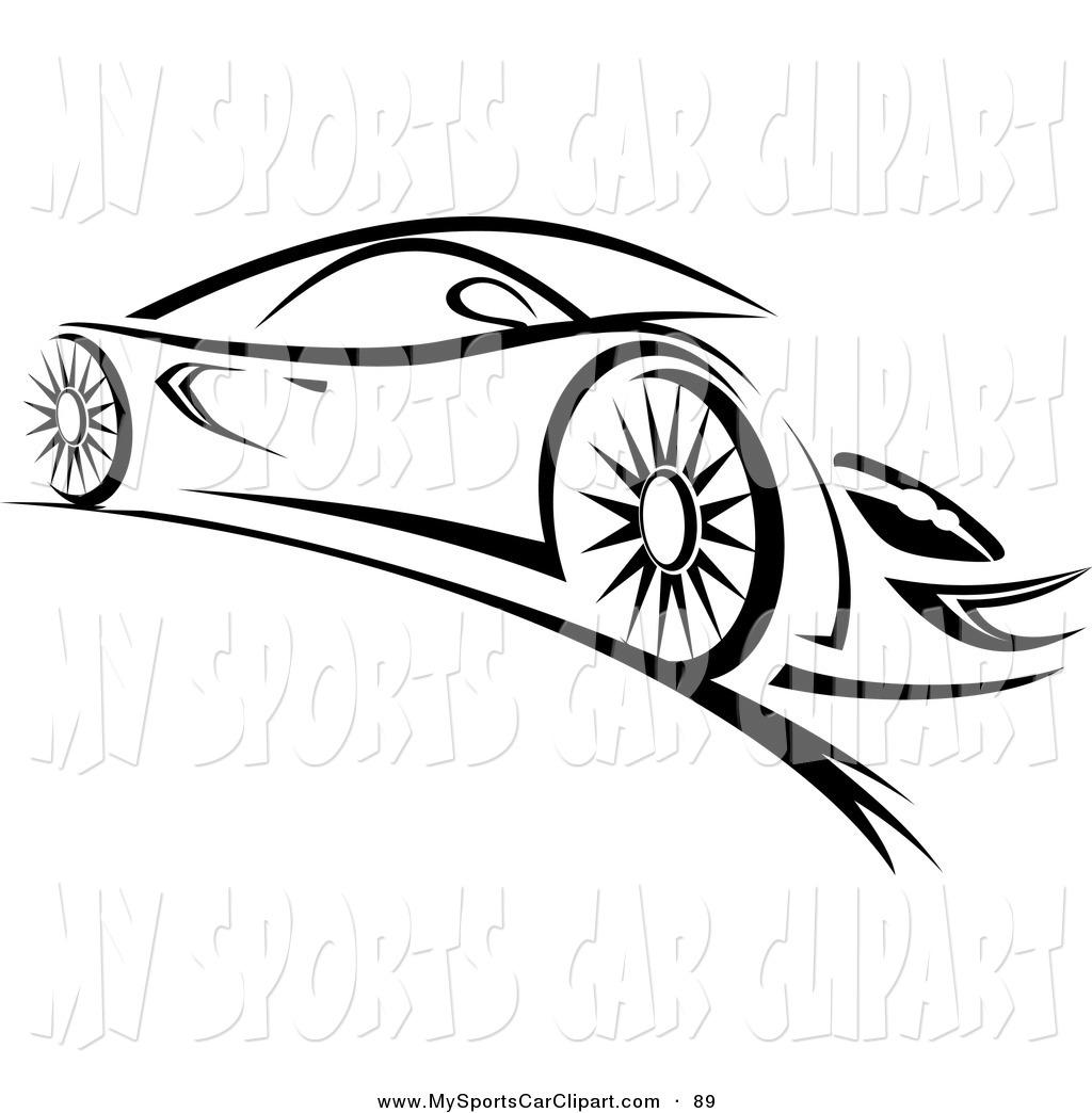 Car Clip Art Black And White