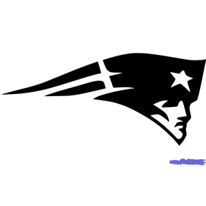 Download How To Draw The Patriots Logo New England Patriots Step ...