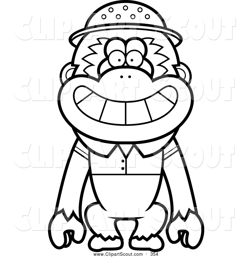Royalty Free Line Drawing Stock Scout Designs
