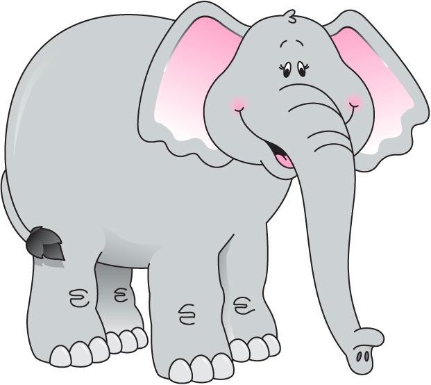Art Carson Elephant Clip Dellosa