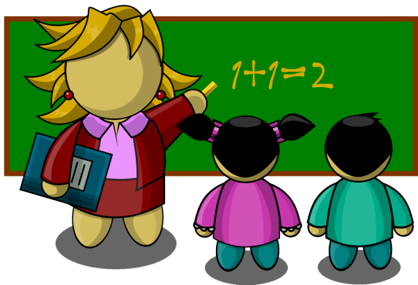 Back to school clipart image clip art illustration of a ...