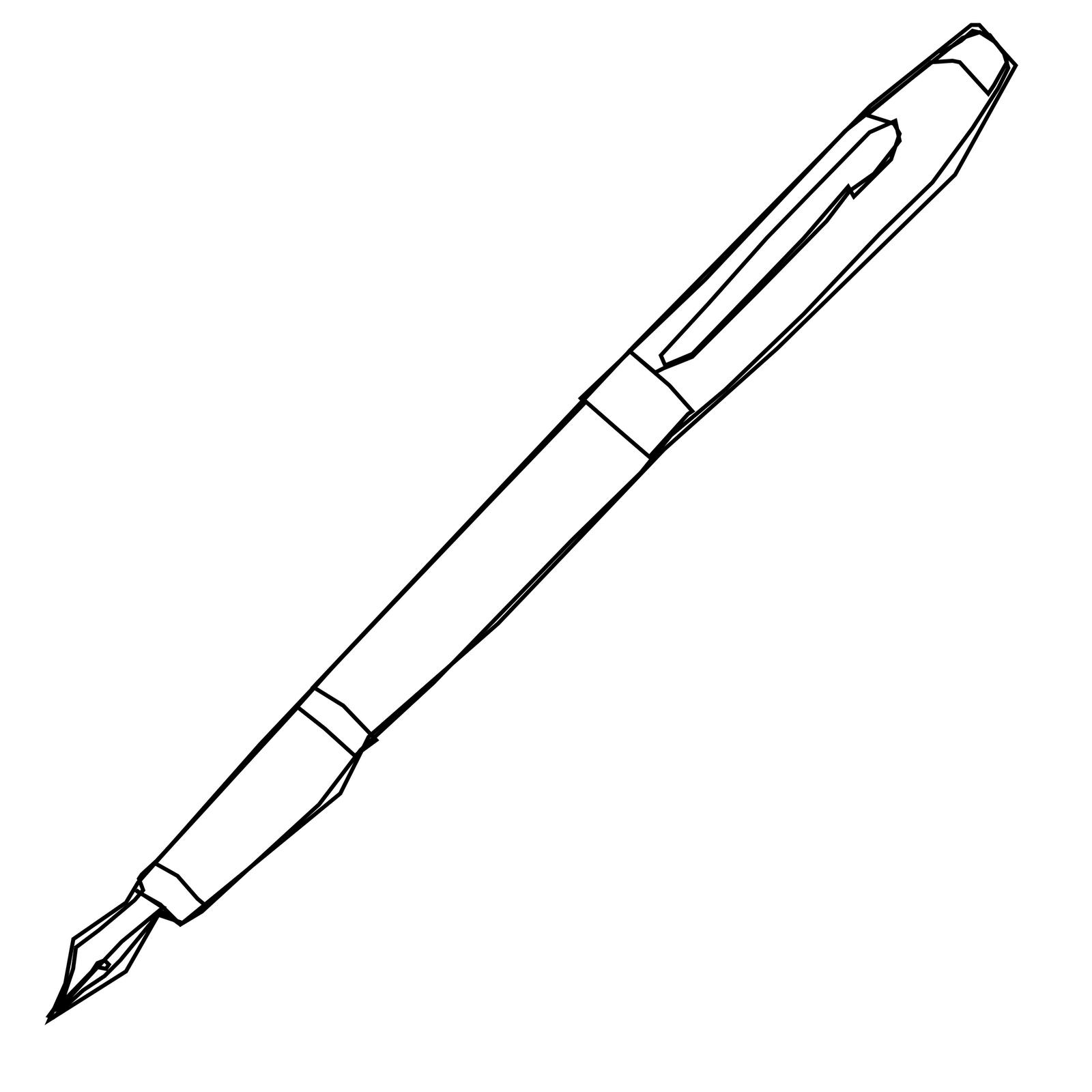 Pen Clipart Vector Clip Art Free Design Image