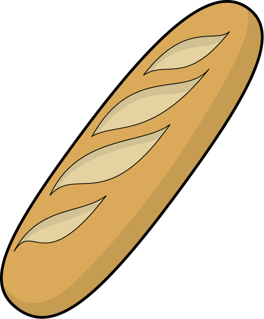 French Bread Baguette Clip Art