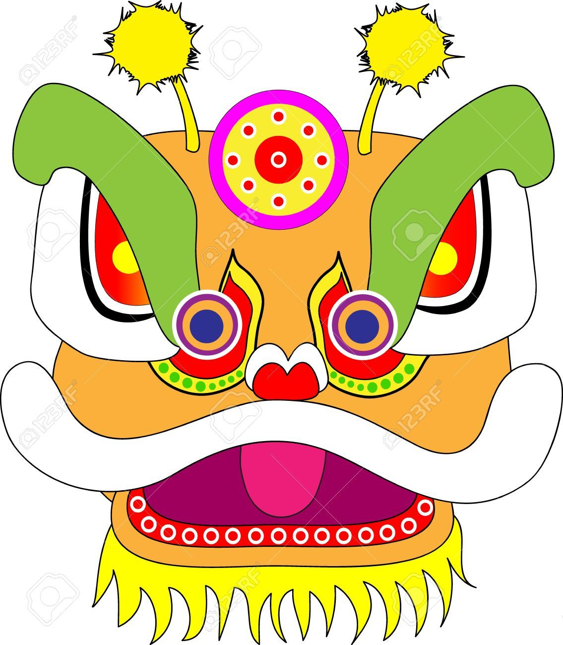 Chinese Dragon Clipart Head Pictures On Cliparts Pub