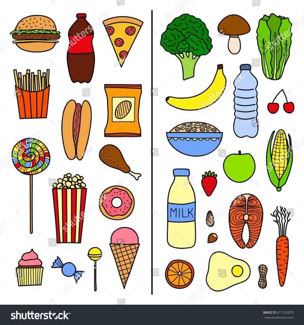 Food Clipart Unhealthy Pictures On Cliparts Pub