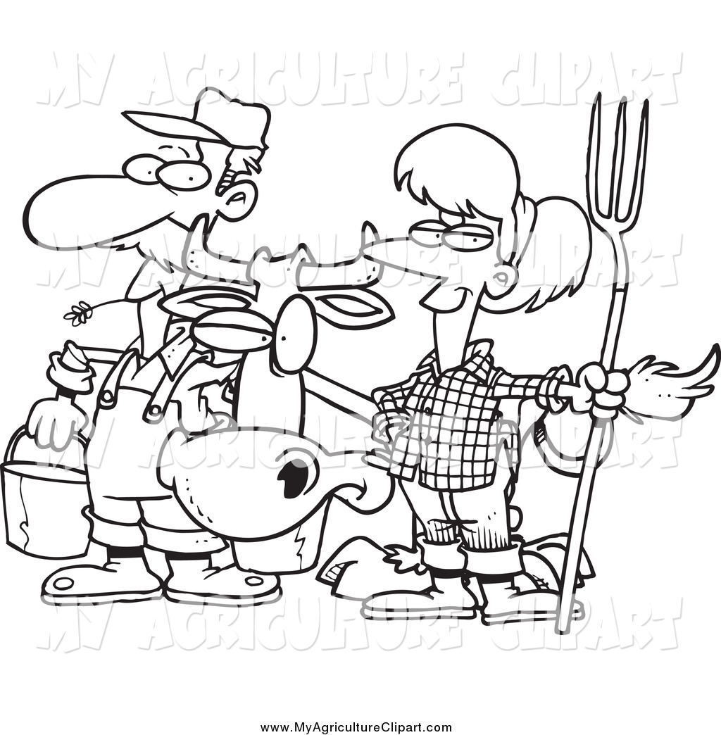 Agriculture Clipart Black And White 7 Clipart Station