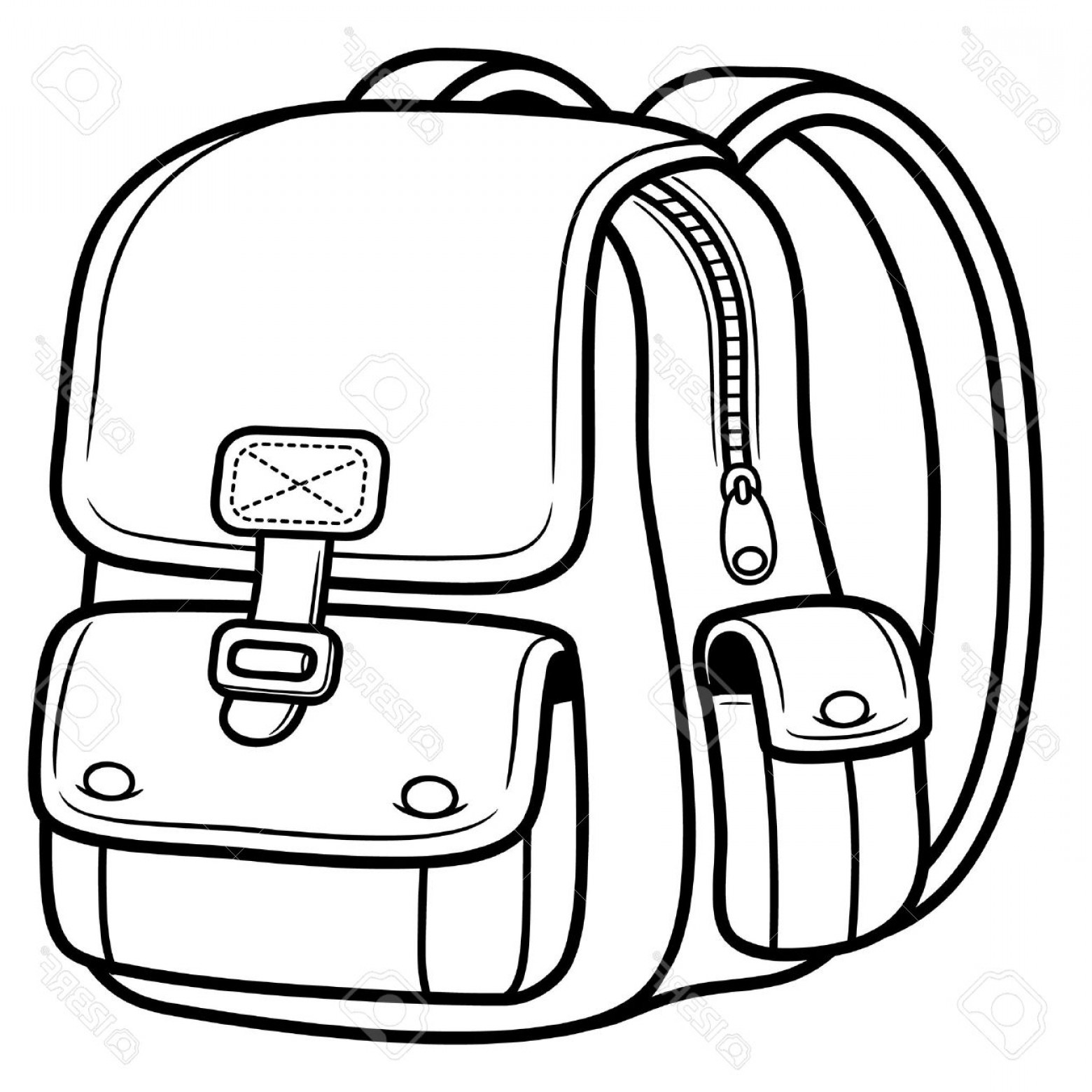Bag Black And White Clipart 8 Clipart Station