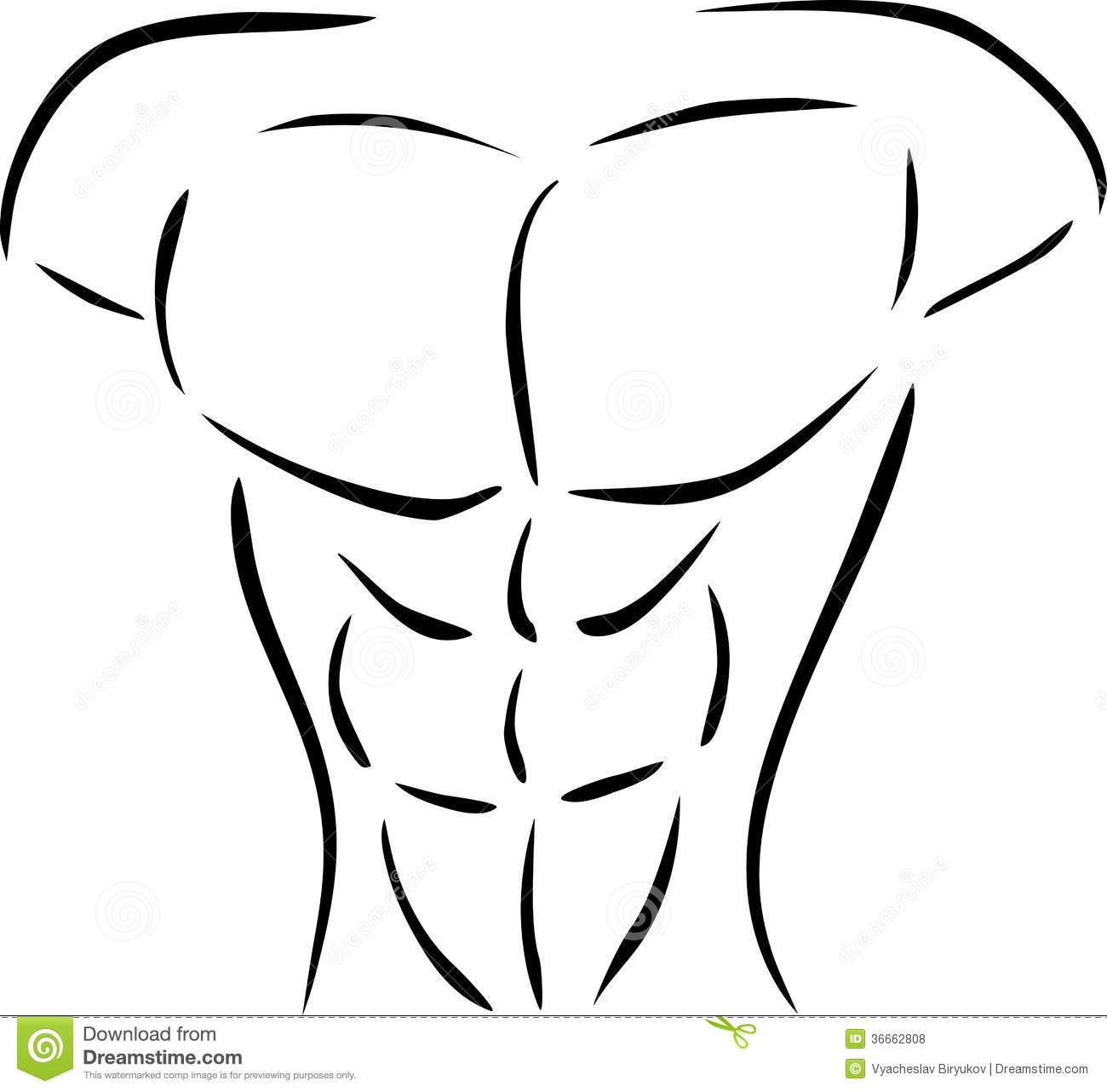 Body Chest Clipart 9