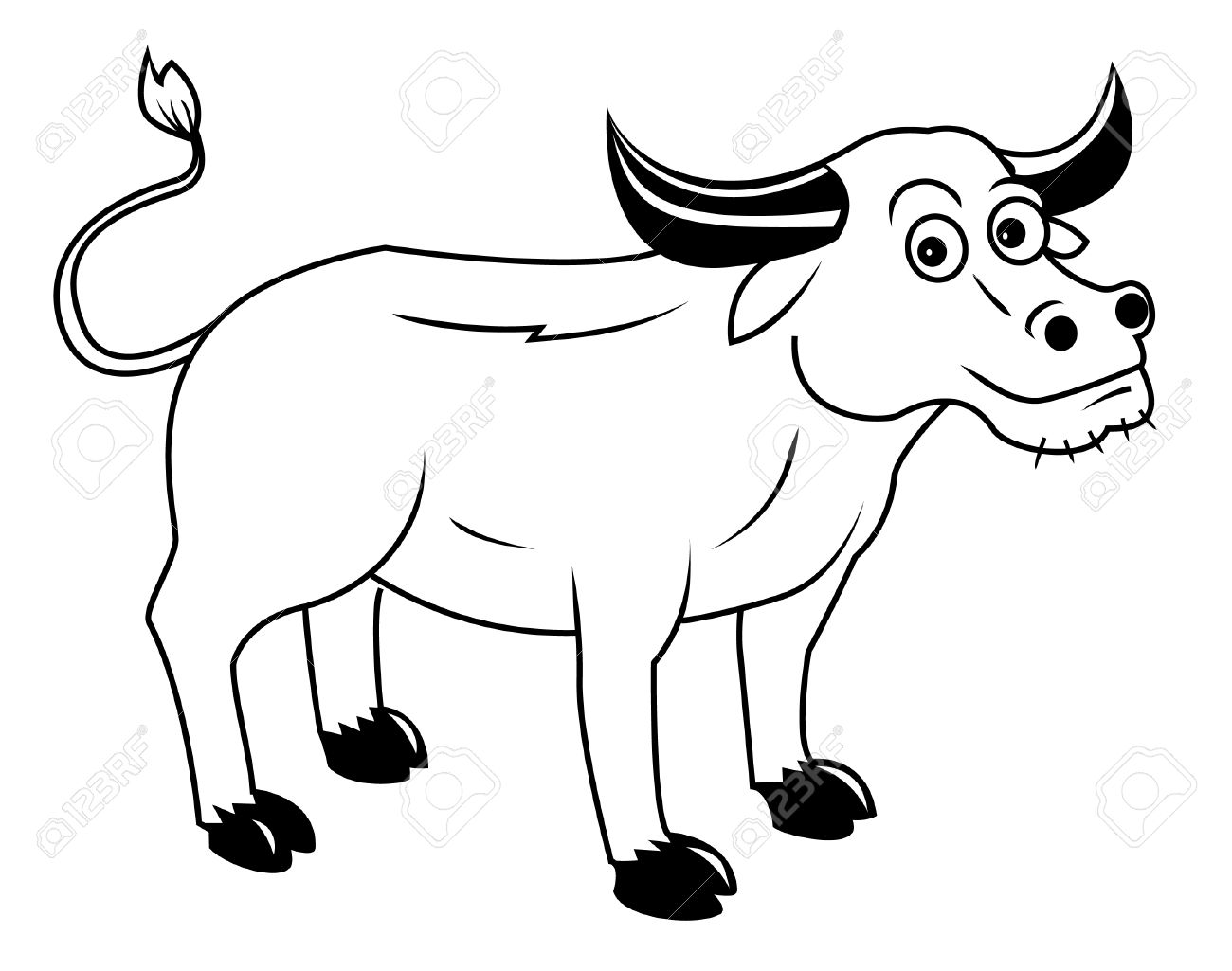 Carabao Clipart Black And White 5 Clipart Station