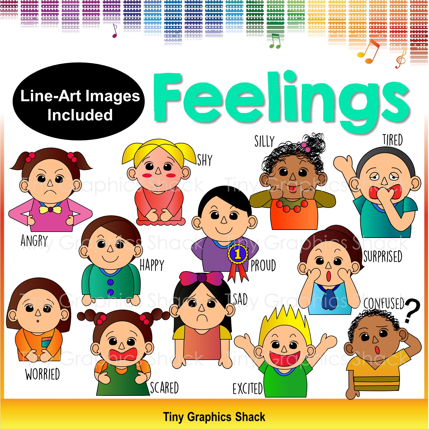 Different Emotions Clipart 5 Clipart Station