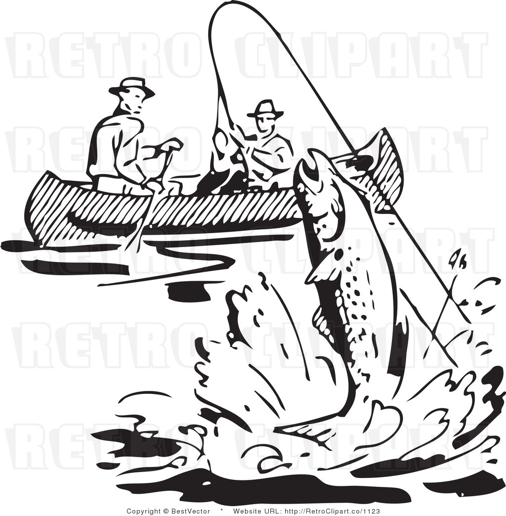 Fisherman Clipart Black And White 7 Clipart Station
