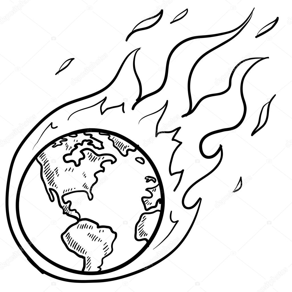 Global Warming Clipart Black And White 13 Clipart Station