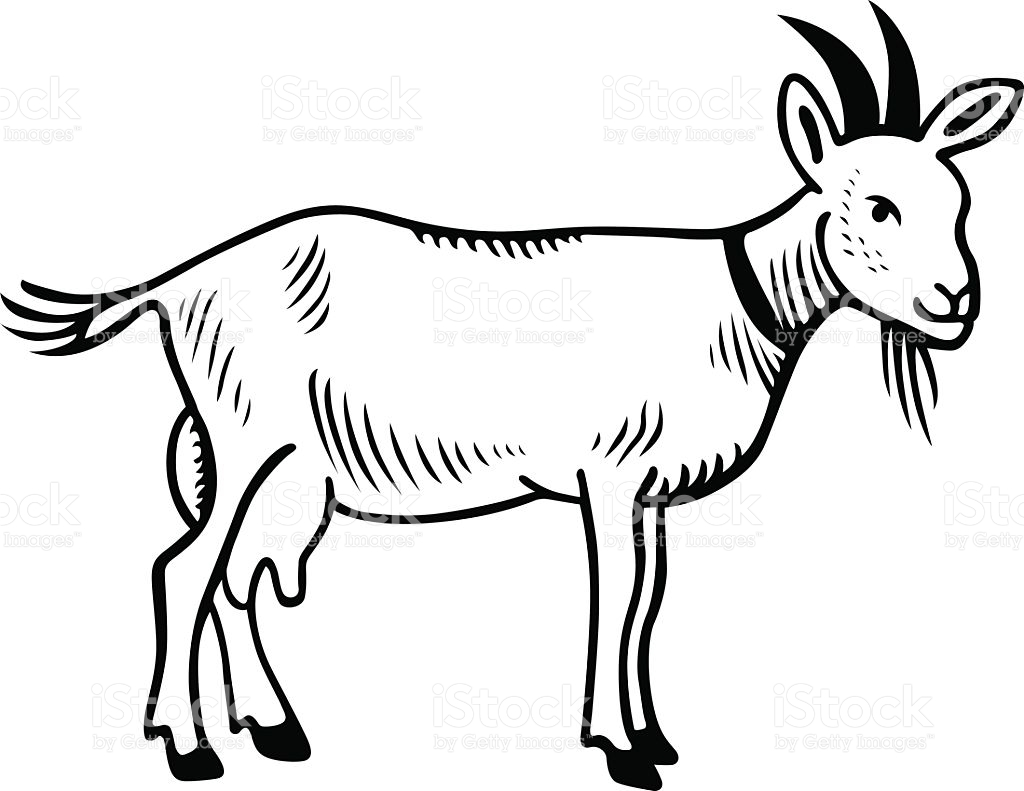 Goat Clipart Black And White 4 Clipart Station
